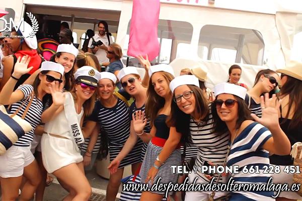 Boat Party para despedidas en Benalmádena