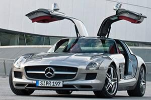 Alquiler Mercedes SLS AMG en Málaga