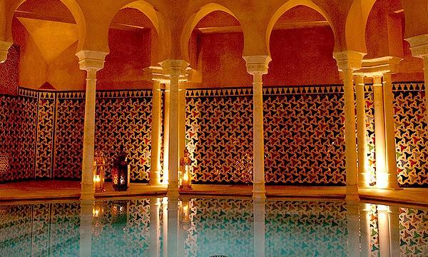 Baños árabes en Málaga