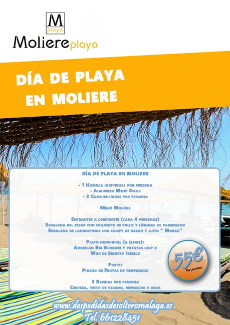 Beach Pack Moliere Playa