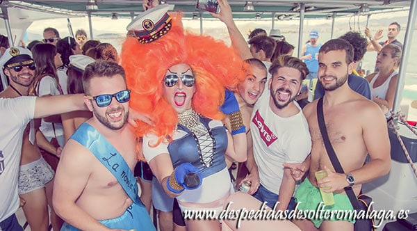 Pack Despedida Málaga Boat Party