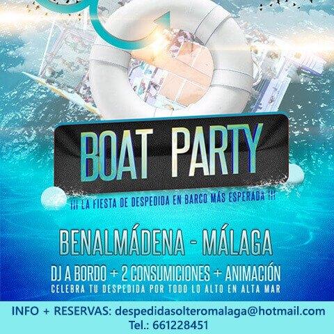 Boat Party en Málaga capital