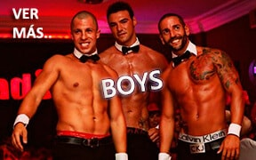 Boys para despedidas de soltera