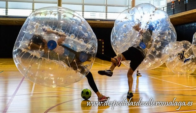 Bubble Fútbol en Málaga