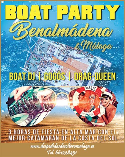 Boat Party en Benalmádena