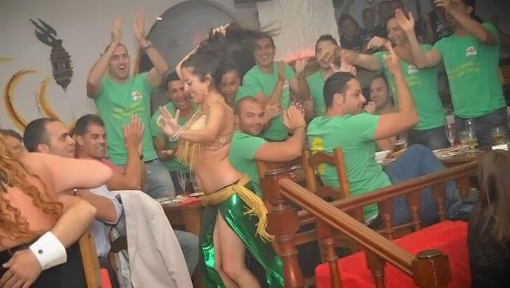 Danza del Vientre en Sala Diablo Benalmádena Málaga