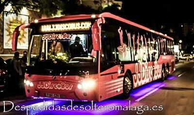 Discobus para despedidas de soltero en Málaga