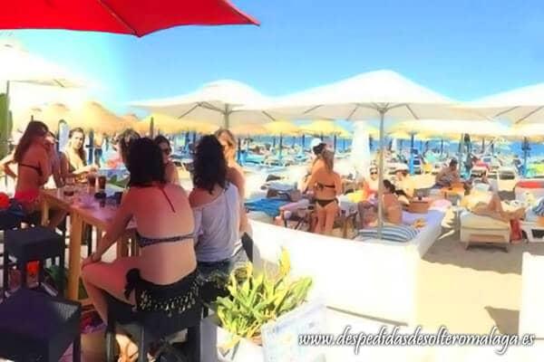 Horno Beach Club en La Carihuela