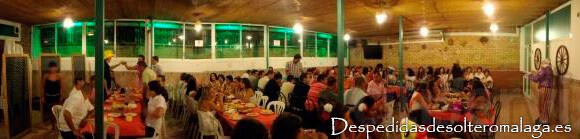 Despedidas en restaurante La Pimienta verde en Málaga