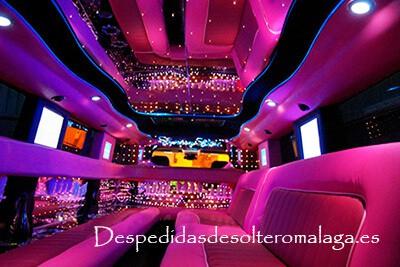 Limusina hummer rosa en Málaga