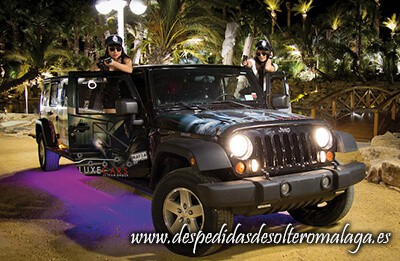Limusina Jeep Wrangler Casino